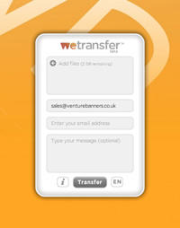 The Venture Banners WeTransfer Channel