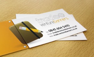 Venture Banners Trade Business Card
