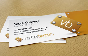 Venture Banners Business Card
