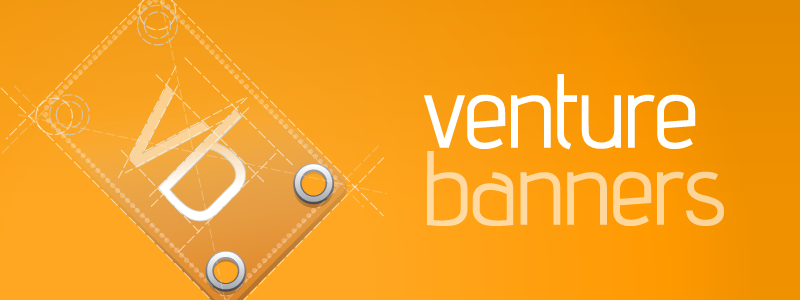 Deconstructed Venture Banners Logo