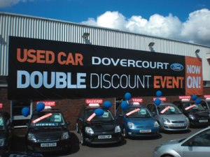 Ford Sales Event Banner