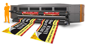Banner Printer Image from the Venture Banners website