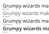 Open Sans (Specimen)
